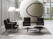Glass floor lamp ROMEO MOON F - FLOS