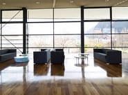 Low round coffee table UP | Round coffee table - La Cividina