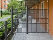 Steel pedestrian barrier SIRIUS - Nola Industrier