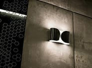 Powder coated steel wall lamp FOGLIO - FLOS