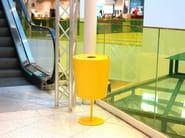 Plastic waste bin HINKEN 40 - Nola Industrier