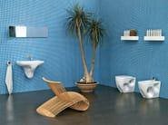 Ceramic bathroom furniture set VOID | Bathroom furniture set - CERAMICA FLAMINIA