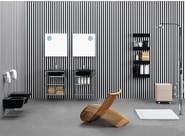 Ceramic bathroom furniture set VOLO | Bathroom furniture set - CERAMICA FLAMINIA