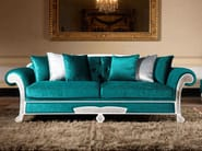 Tufted 3 seater sofa bed TREVI | Classic style sofa bed - Domingo Salotti