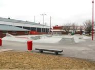 Cement bench seating PLINT - Nola Industrier