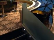 LED stainless steel steplight LEDA - DAISALUX