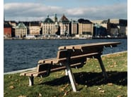 Aluminium outdoor chair WEMBLEY - Nola Industrier