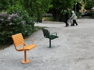 Plate outdoor chair PARCO | Plate outdoor chair - Nola Industrier