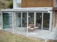 Frameless glass facade PLv - FRUBAU