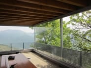 Frameless patio door PLv - FRUBAU
