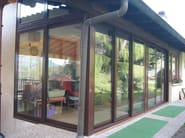 Thermal break aluminium patio door SL 51 | Sliding door - FRUBAU