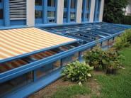Teto de alumínio para jardins de inverno SUNROOF copertura mobile - FRUBAU