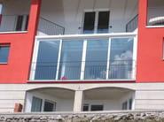 Glass and aluminium conservatory Conservatory - FRUBAU