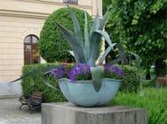Bronze Flower pot NÄCKROS - Nola Industrier