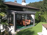 Aluminium conservatory canopy CR+ | Aluminium canopy - FRUBAU