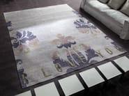 Handmade silk rug I LOVE YOU - ERBA ITALIA