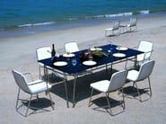 Stainless steel garden chair PHOENIX | Garden chair - Sérénité Luxury Monaco