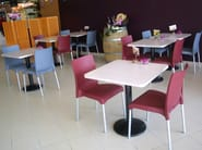 Stackable technopolymer chair MAYA - GABER
