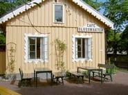 Rectangular wooden garden table HJORTHAGEN   Rectangular garden table - Nola Industrier
