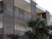 Wood panel for facade BRISE-SOLEIL - Ravaioli Legnami