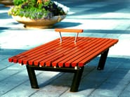 Backless pine Bench SERGEL | Backless Bench - Nola Industrier