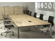 Rectangular meeting table MEETING | Meeting table - TECNITALIA