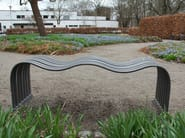 Steel Bench WAVE - Nola Industrier