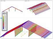Structural calculation for timber DOLMEN LEGNO - CDM DOLMEN