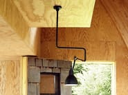 Adjustable steel ceiling lamp with swing arm N°312 | Ceiling lamp - DCW éditions