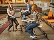 Steel stool / coffee table FLAMINGO - Nola Industrier