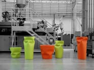 Vase SAVING/SPACE/VASE - PLUST Collection by euro3plast