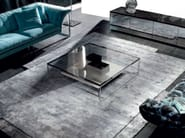 Low rectangular coffee table for living room PASO DOBLE - ERBA ITALIA