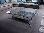 Low rectangular coffee table for living room PASO DOBLE - ERBA ITALIA