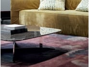 Low rectangular marble coffee table for living room NORD - ERBA ITALIA