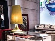 Fabric table lamp MACCHIA - ERBA ITALIA
