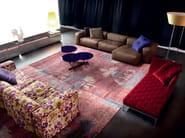 Fabric floor lamp DISCO - ERBA ITALIA