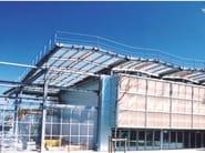 Roof panel in opaque plastic laminate ONDUCLAIR PC | Roof panel in translucent plastic laminate - ONDULINE ITALIA