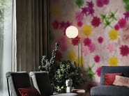 Wallpaper with floral pattern PROFUMO - Wall&decò
