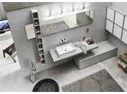 Sistema bagno componibile PROGETTO+ - Composizione 2 - INDA®