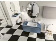 Bathroom cabinet / vanity unit PROGETTO+ - Composition 3 - INDA®