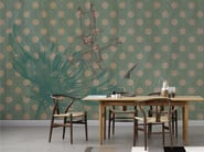 Dotted panoramic wallpaper R-HOBBY - Inkiostro Bianco