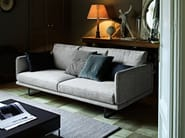 Upholstered fabric sofa RAIL | Fabric sofa - Arketipo