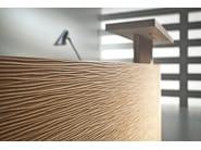 Modular Reception desk with Built-In Lights FURONTO | Reception desk - BALMA
