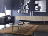 Low rectangular coffee table MIXT | Rectangular coffee table - BALMA