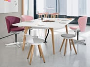Rectangular meeting table TIMBA TABLE | Rectangular meeting table - BENE