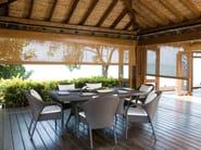 Tavolo da giardino rettangolare SALVADOR | Tavolo rettangolare - 7OCEANS DESIGNS