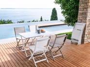 Rectangular aluminium garden table QUEEN   Rectangular table - Talenti
