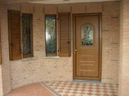Aluminium armoured door panel REGOLO/KA1 - ROYAL PAT