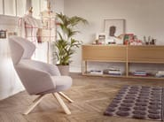 Wingchair with armrests with headrest REPAUS | Wingchair - Bosc