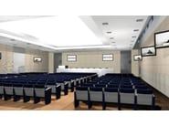 Leather auditorium seats RER - Paolo Castelli